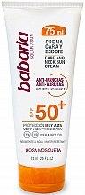 Kup Krem ochronny z filtrem SPF 50 do twarzy i szyi - Babaria Face and Neck Sun Cream