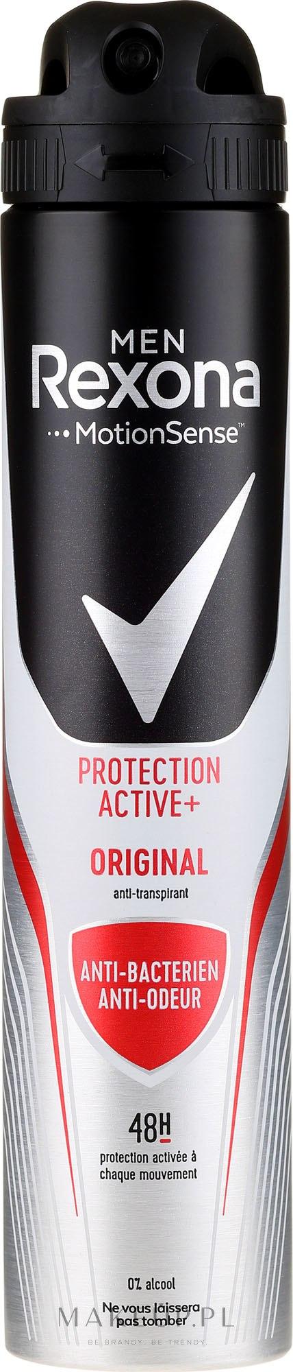 Dezodorant w sprayu dla mężczyzn - Rexona MotionSense Men Active Protection+ Original — фото 200 ml