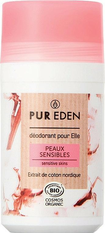 Dezodorant w kulce, skóra wrażliwa - Pur Eden Sensitive Skins Deodorant — фото N1
