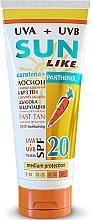 Kup Przeciwsłoneczny balsam z pantenolem do ciała SPF 20 - Sun Like Sunscreen Lotion Panthenol