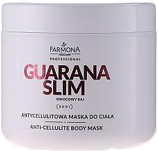 Kup Antycellulitowa maska do ciała - Farmona Professional Guarana Slim Owocowy raj