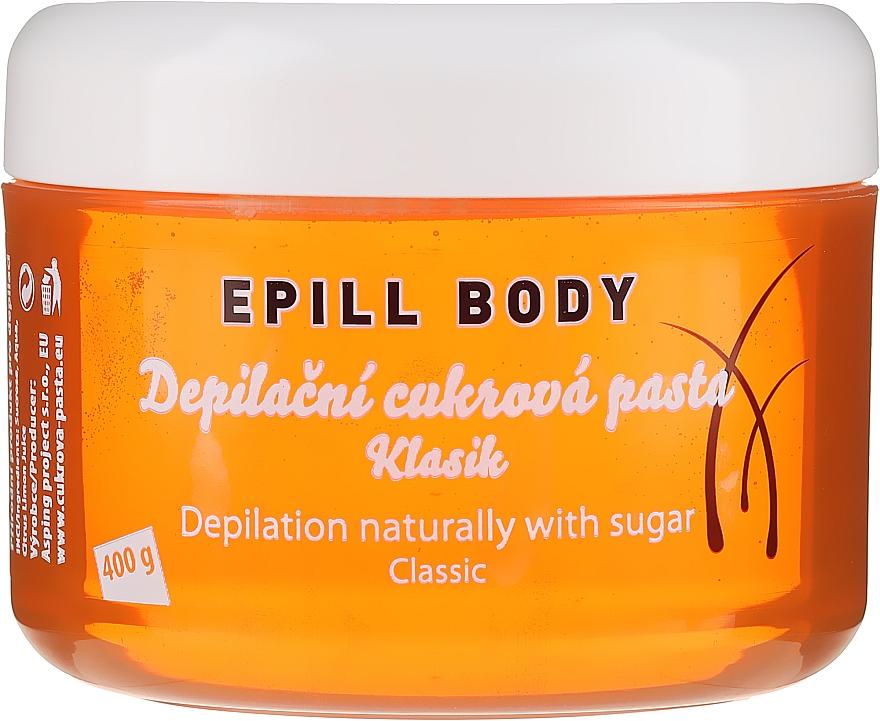 Pasta cukrowa do depilacji - Epill Body Depilation Naturally With Sugar Classic — фото N1