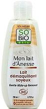 Kup Mleczko do łagodnego demakijażu z oślim mlekiem - So'Bio Etic Gentle Make-up Remover
