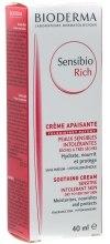 Kup Łagodząco-nawilżający krem o bogatej konsystencji - Bioderma Sensibio Rich Soothing Cream