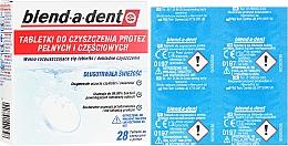 Kup Tabletki do czyszczenia protez pełnych i częściowych - Blend-A-Dent
