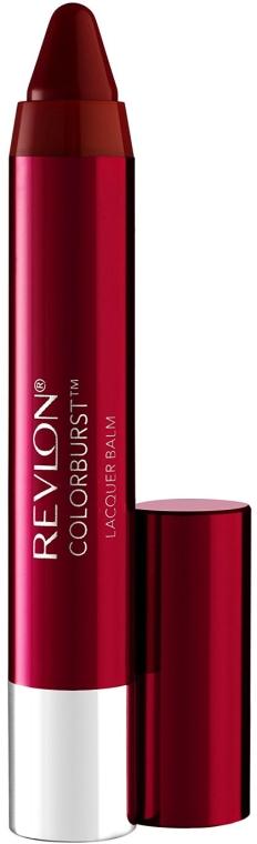 Błyszczący balsam do ust - Revlon ColorBurst Lacquer Balm
