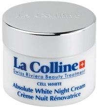 Kup Rozjaśniający krem na noc - La Colline Cell White Absolute White Night Cream