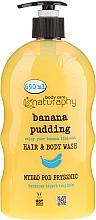 Kup Bananowe mydło pod prysznic do włosów i ciała z aloesem - Bluxcosmetics Naturaphy