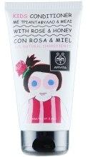 Kup Odżywka do włosów dla dzieci Róża i miód - Apivita Babies & Kids Natural Baby Kids Conditioner With Honey & Rose Bulgarian