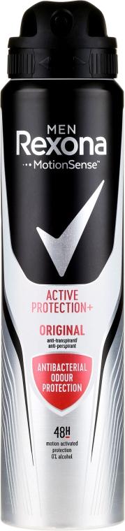 Dezodorant w sprayu dla mężczyzn - Rexona MotionSense Men Active Protection+ Original — фото N3