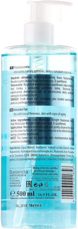 Hialuronowy tonik do twarzy - Bielenda Professional Hydra-Hyal Injection Hyaluronic Face Toner — фото N2