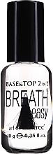 Kup Baza i top coat do paznokci 2 w 1 - Art de Lautrec Breath Easy Base Top