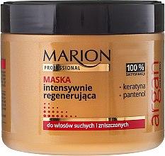 Kup Intensywnie regenerująca maska do włosów suchych i zniszczonych - Marion Professional Argan Mask