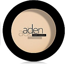 Matujący puder w kompakcie - Aden Cosmetics Silky Matt Compact Powder — фото N2