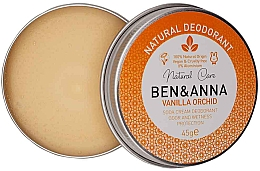 Kup Naturalny dezodorant w kremie - Ben & Anna Vanilla Orchid Soda Cream Deodorant