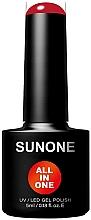 Kup Hybrydowy lakier do paznokci 3w1 - Sunone All In One UV/LED Gel Polish