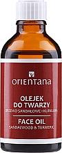 Kup Olejek do twarzy Drzewo sandałowe i kurkuma - Orientana