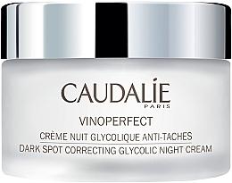 Kup Krem na noc z kwasem glikolowym przeciw plamom pigmentacyjnym - Caudalíe Vinoperfect Dark Spot Correcting Glycolic Night Cream