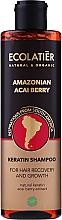 Kup Szampon do włosów z keratyną Amazońskie jagody acai - Ecolatier Amazonian Acai Berry Shampoo