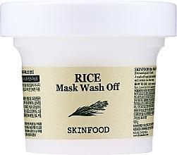 Kup Maseczka oczyszczająca z ekstraktem z ryżu - Skinfood Rice Mask Wash Off