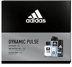Kup Adidas Dynamic Pulse - Zestaw (a/sh 50 ml + sh/gel 250 ml + deo/spray 150 ml)