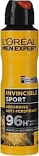 Kup Dezodorant dla mężczyzn - L'Oreal Paris Men Expert Invincible Sport Deodorant 96H