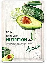 Kup Odżywcza maseczka w płachcie do twarzy z awokado - SNP Fruits Gelato Nutrition Mask