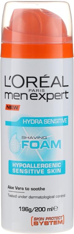 Pianka do golenia do skóry wrażliwej - L'Oreal Paris Men Expert