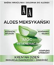 Kup Przeciwzmarszczkowy krem do twarzy na dzień Aloes meksykański 50+ - AA Moc Roślin