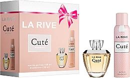 Kup La Rive Cuté Woman - Zestaw (edp 100 ml + deo/spray 150 ml)