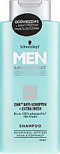 Kup Szampon przeciwłupieżowy dla mężczyzn - Schwarzkopf Men Deep Effect 3 Zn+ Shampoo