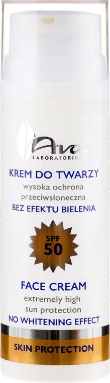 Przeciwsłoneczny krem do twarzy SPF 50 - AVA Laboratorium Skin Protection
