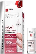 Kup Skoncentrowana odżywka do paznokci nadająca kolor 6 w 1 - Eveline Cosmetics Nail Therapy Professional