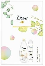 Kup Zestaw - Dove Revitalising Gift Set (sh/gel/250ml + antiperspirant/150ml)