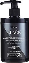 Kup Toner koloryzujący do włosów - Black Professional Line Semi-Permanent Coloring Toner