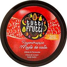 Regenerujące masło do ciała Wiśnia i porzeczka - Farmona Tutti Frutti Cherry & Currant — фото N2