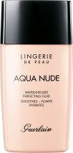 Kup Wygładzający fluid nawilżający do twarzy SPF 20 - Guerlain Lingerie de Peau Aqua Nude Foundation