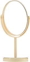 Kup Lusterko kosmetyczne na nóżce 85710, żółte - Top Choice Beauty Collection Mirror
