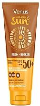 Kup Krem bloker przeciwsłoneczny do miejsc wrażliwych SPF 50+ - Venus Golden Sun Blocker Cream SPF 50