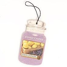 Kup Zapach do samochodu - Yankee Candle Car Jar Lemon Lavender