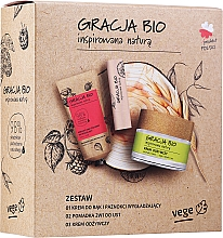 Kup Zestaw - Gracja Bio Inspired Nature (h/cr/50ml + f/cr/50ml + lip/balm/5g)