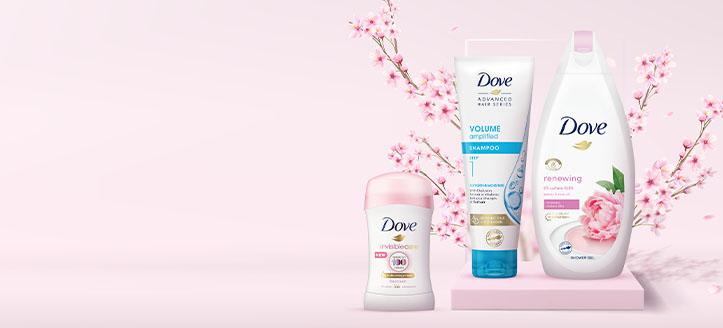 Zniżki do -30% na promocyjne produkty Dove. Сeny uwzględniają zniżkę.