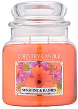 Kup Świeca zapachowa w słoiku - Country Candle Sunshine & Daisies