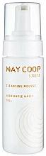 Kup Delikatny mus myjący do twarzy o lekkiej konsystencji - May Coop Cleansing Mousse Acer Maple Water 100%