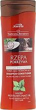 Kup Tonizująco-wzmacniający szampon z odżywką do włosów przetłuszczających się Rzepa i pokrzywa - Joanna Tradycyjna receptura