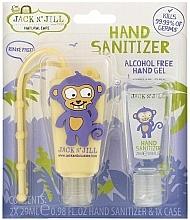 Kup Zestaw do dezynfekcji dla dzieci - Jack N' Jill Hand Sanitizer (Monkey)