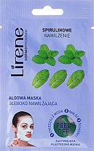 Kup Algowa maska peel-off głęboko nawilżająca Spirulinowe nawilżenie - Lirene