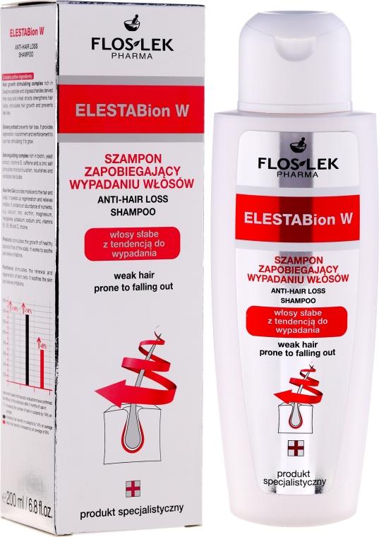 Szampon zapobiegający wypadaniu włosów - Floslek ElestaBion W Anti-Hair Loss Shampoo — фото N1