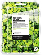 Kup Maska do twarzy na tkaninie Zielona herbata - Superfood For Skin Soothing Sheet Mask