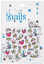Kup Naklejki na paznokcie - Snails 3D Nail Stickers